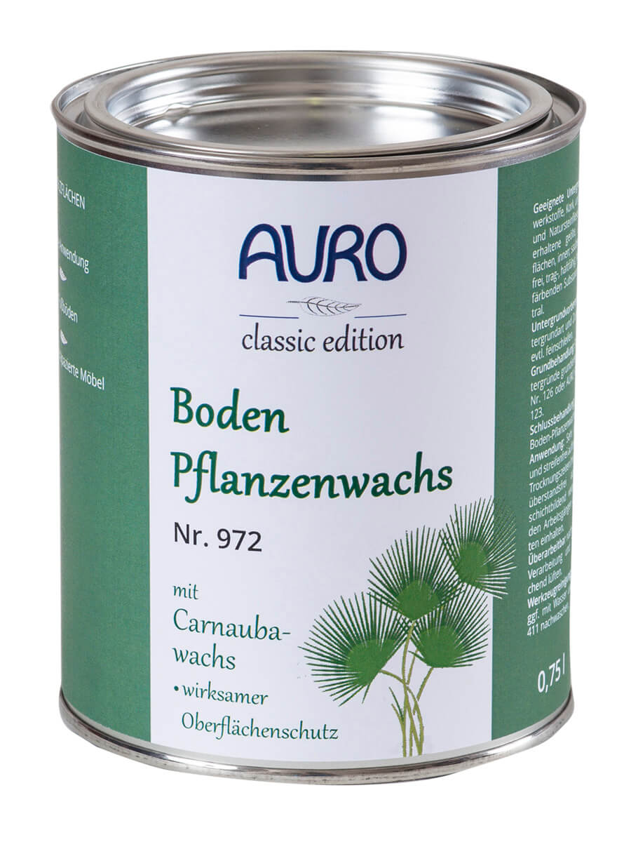 AURO Bodenpflanzenwachs Nr. 972 - 0,75 L