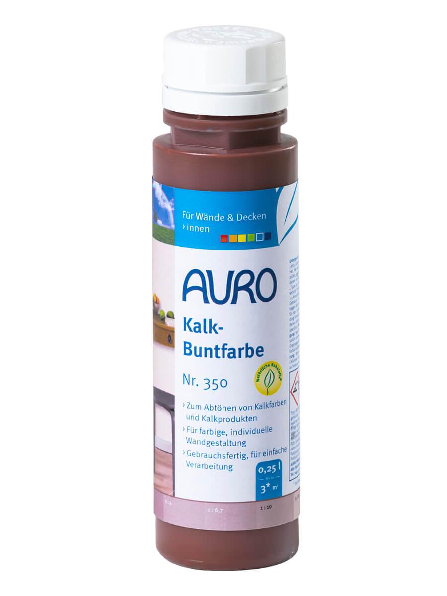AURO Kalk-Buntfarbe Nr. 350 0,25L Braun