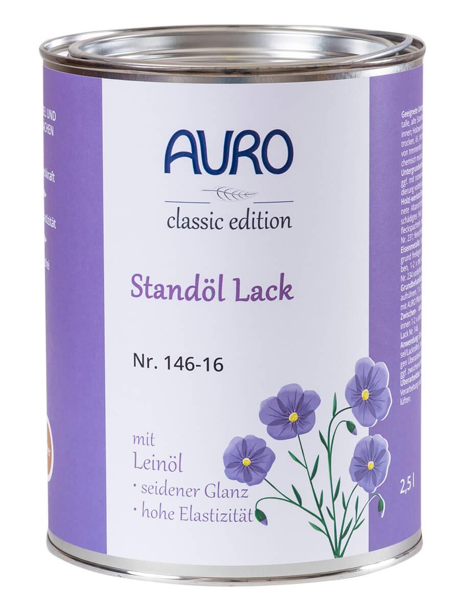 AURO Standöl-Lack Nr. 146 Weiß 0,75L