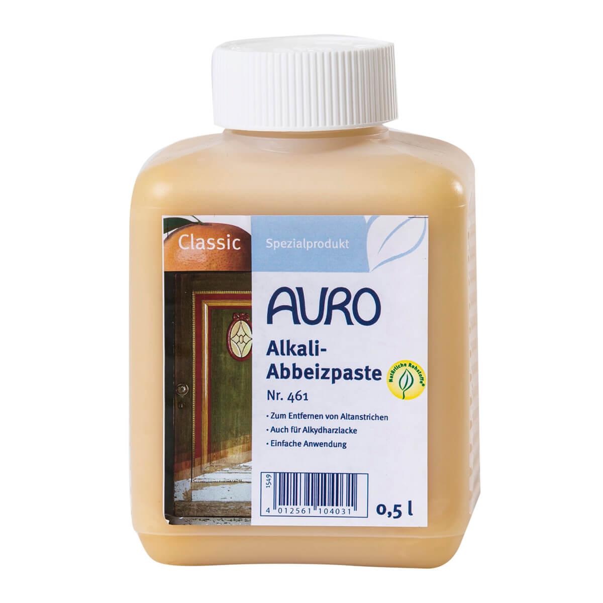 AURO Alkali-Abbeizpaste Nr. 461 - 0,50 L