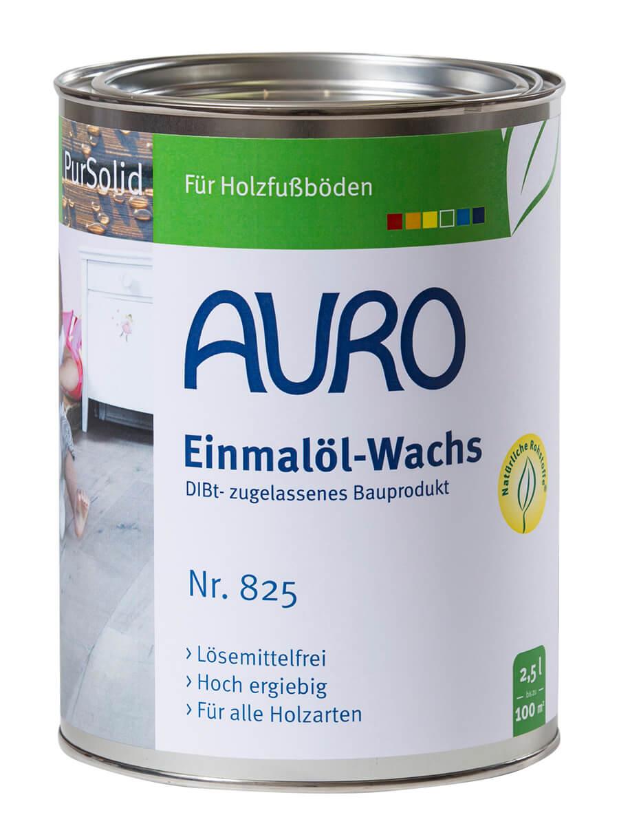 AURO Einmalöl-Wachs Nr. 825 - 2,5 L