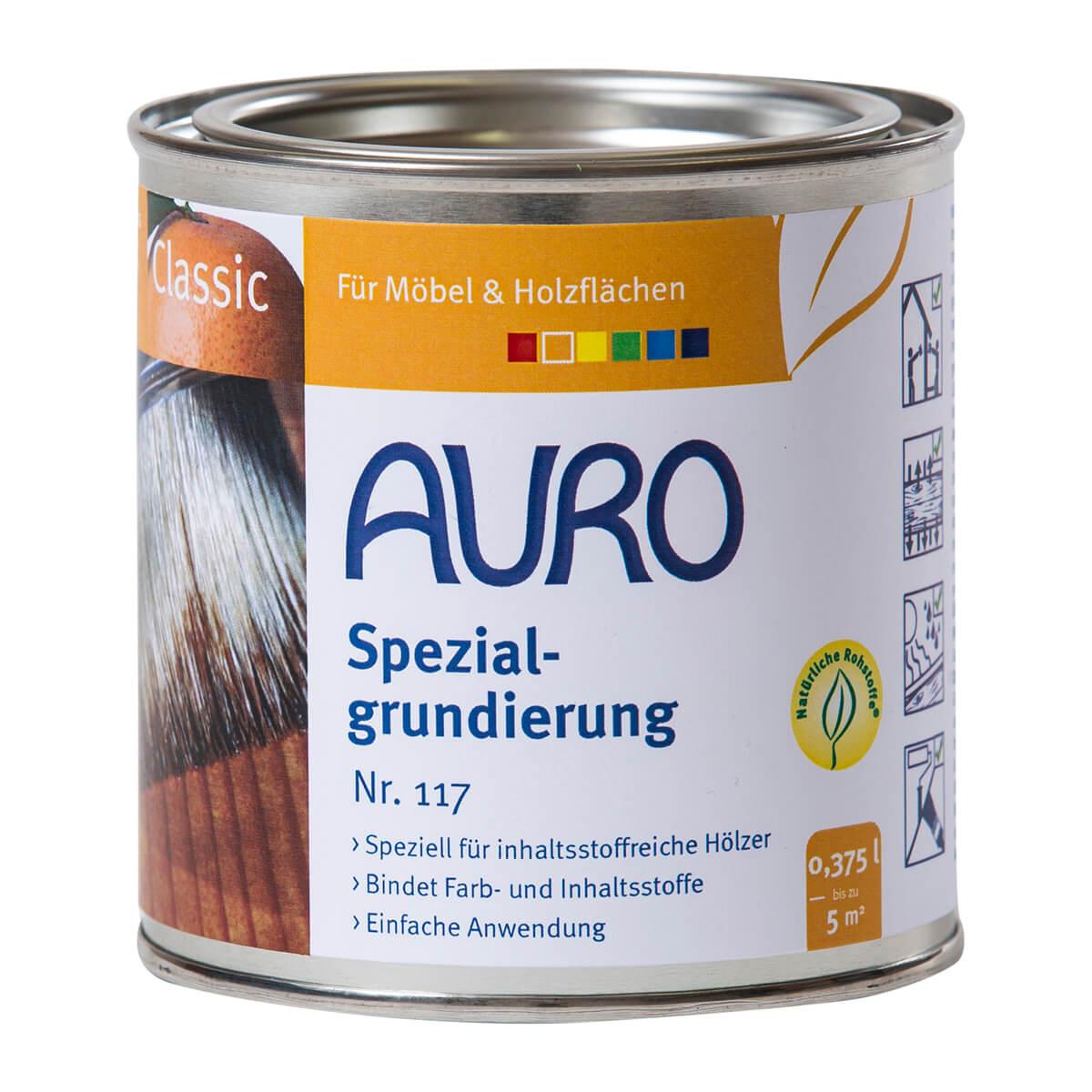 AURO Spezialgrundierung Nr. 117 0,375L