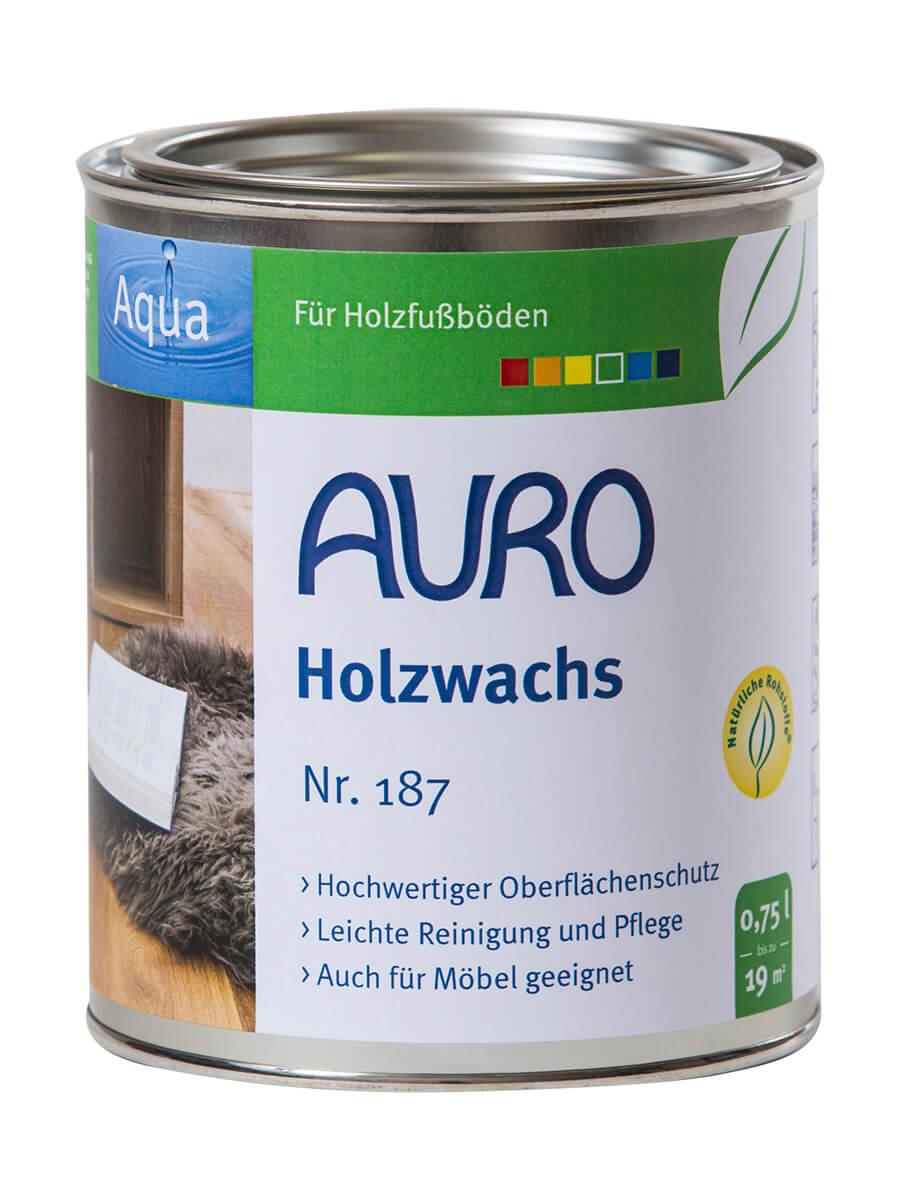 AURO Holzwachs Nr. 187 0,75L