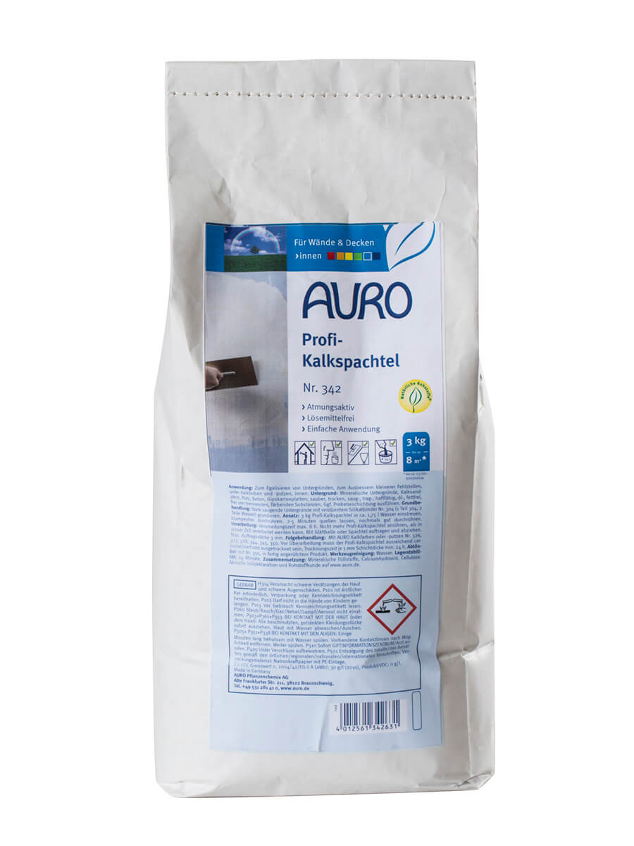 AURO Profi-Kalkspachtel Nr. 342 3,00kg