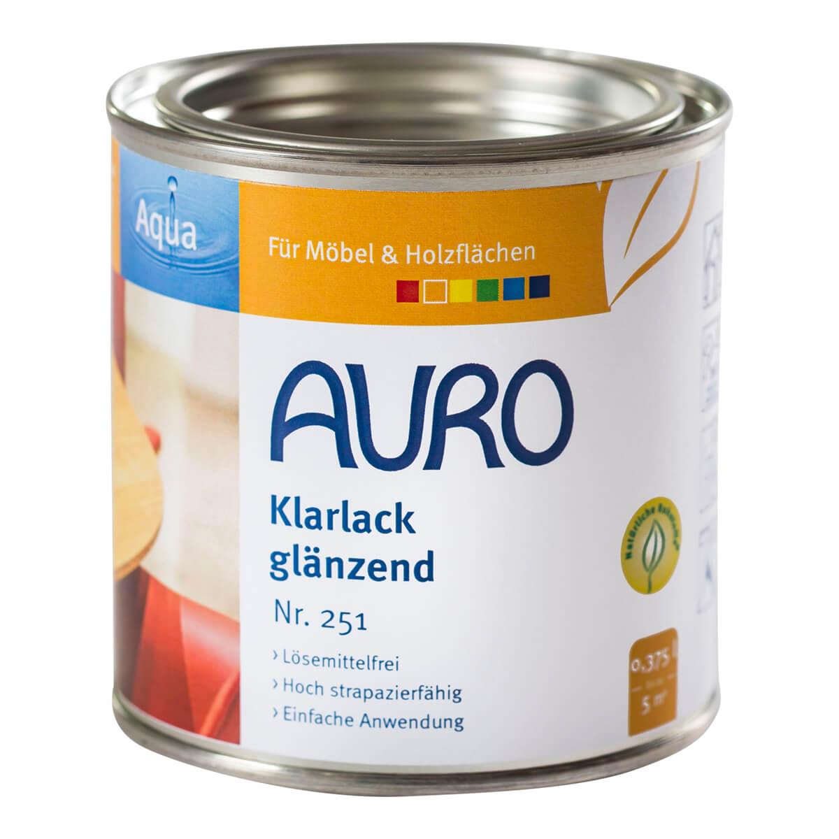 AURO Klarlack glänzend Nr. 251 0,375L