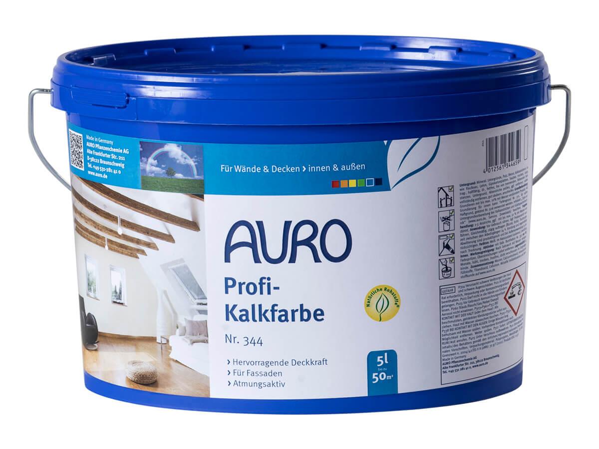 AURO Profi-Kalkfarbe Nr. 344 5,00L