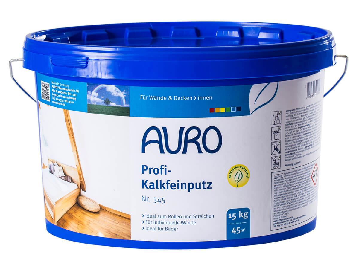 AURO Profi-Kalkfeinputz Nr. 345 15,00kg