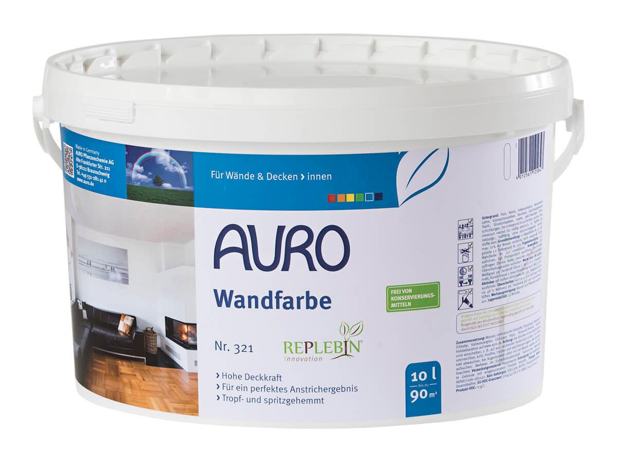 AURO Wandfarbe Nr. 321 10,00L