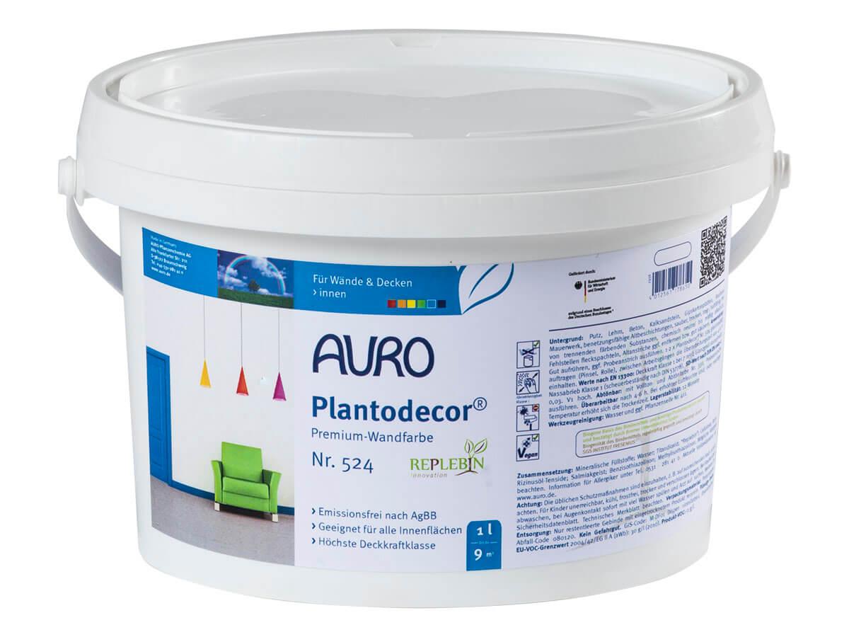AURO Plantodecor Premium-Wandfarbe Nr. 524 1,00L