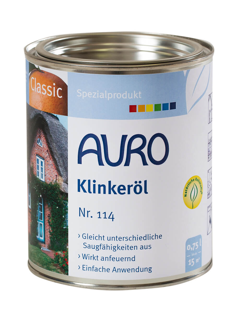 AURO Klinkeröl Nr. 114 - 0,75 L 0,75L