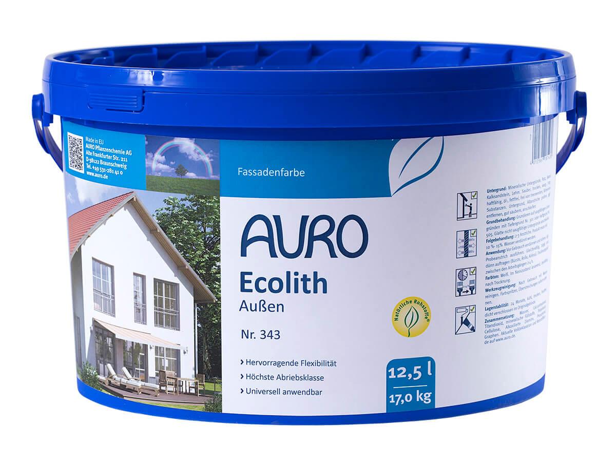 AURO Ecolith Außen-Kalkfarbe 343 12,50L