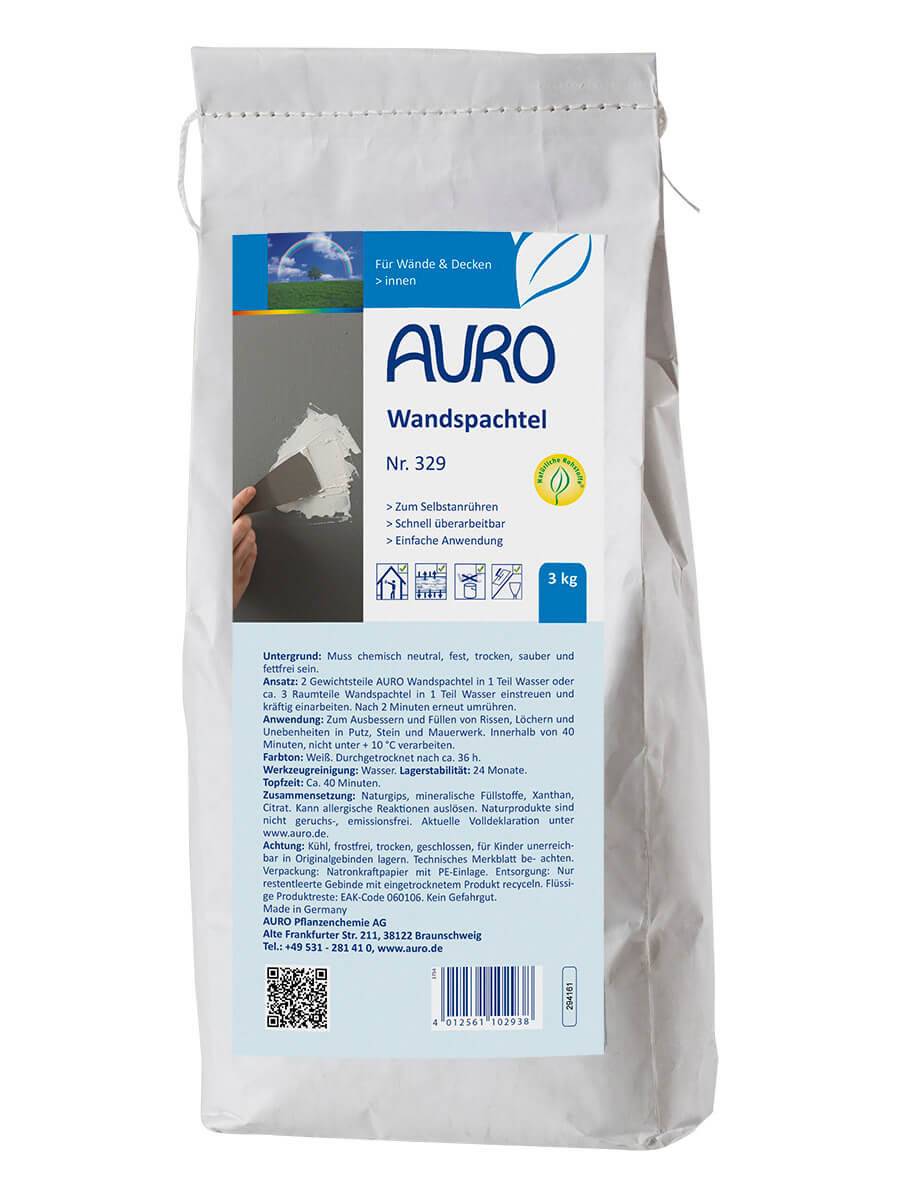 AURO Wandspachtel Nr. 329 3,00kg