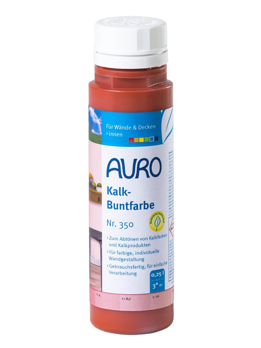 AURO Kalk-Buntfarbe Nr. 350 0,25L Teraracotta