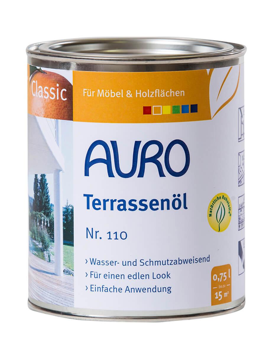 AURO Terrassenöl Nr. 110 - Teak 0,75L