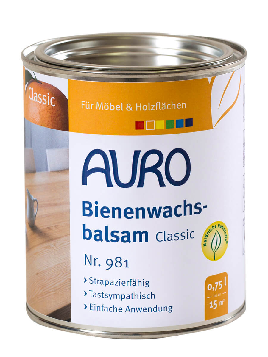 AURO Bienenwachsbalsam Nr. 981 -  0,75L