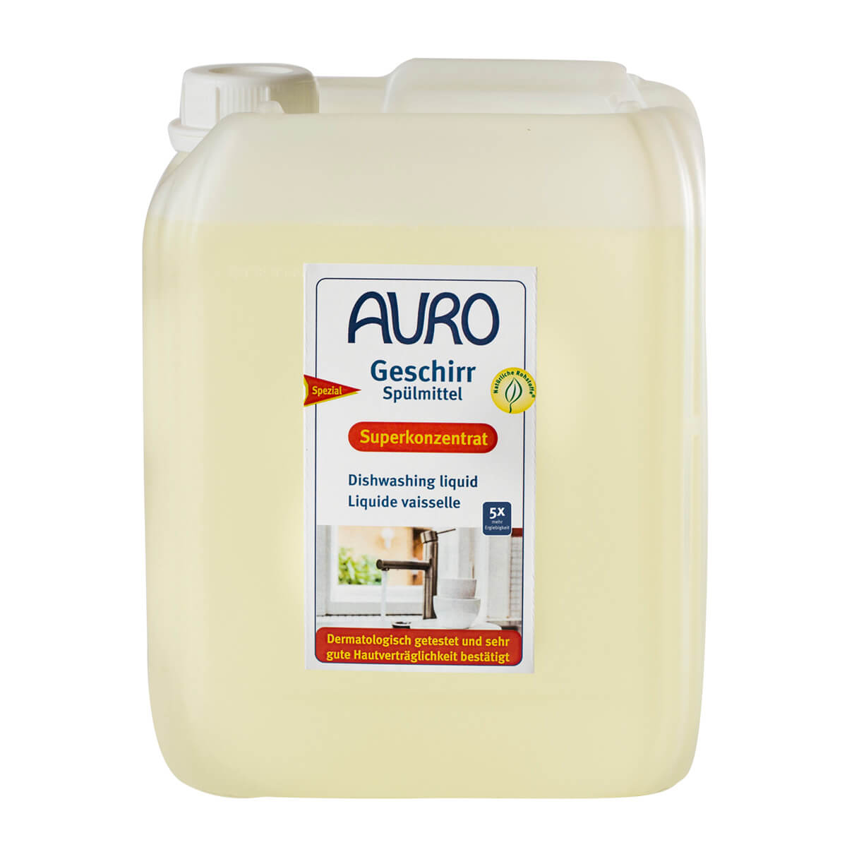 AURO Geschirrspülmittel Nr. 473 5,00L