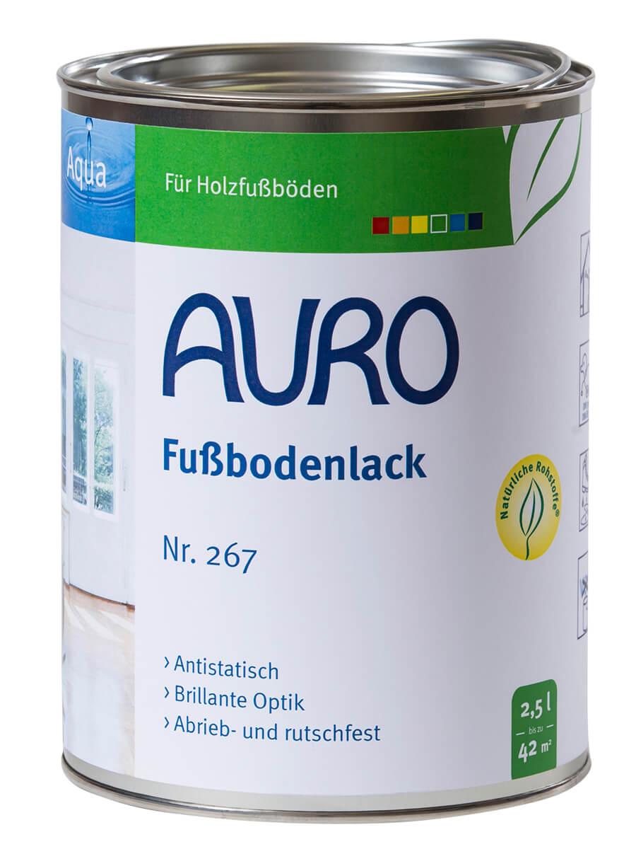 AURO Fußbodenlack Nr. 267 2,50L